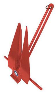 SLIP RING MECHANICAL COATED ANCHOR-#11 Slip Ring Anchor, Red