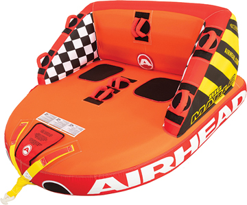 """Airhead Inflatable Towable Big Mable, 2-Rider, 69"""" x 66"""""""