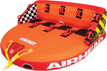 """Airhead Water Tube Inflatable Towable Great Big Mable, 4-Rider, 93"""" x 85"""""""