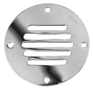 "PERKO CHROME PLATE LOCKER VENTILATOR-3-1/4"" O.D."