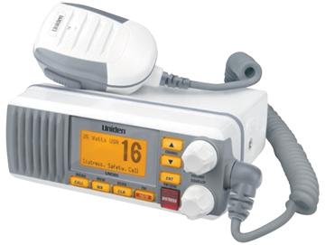UNIDEN WATERPROOF VHF/DSC RADIO-UM385 VHF/DSC Radio, White