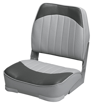PROMOTIONAL LOW-BACK FOLD-DOWN SEATS-Gray/Charcoal Vinyl