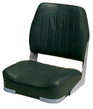 PROMOTIONAL LOW-BACK FOLD-DOWN SEATS-Green Vinyl
