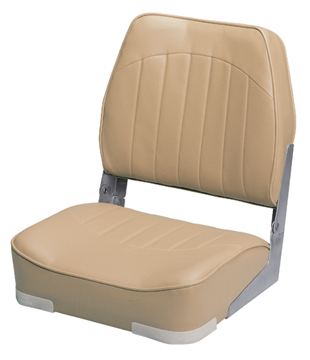 PROMOTIONAL LOW-BACK FOLD-DOWN SEATS-Sand Vinyl