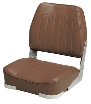 PROMOTIONAL LOW-BACK FOLD-DOWN SEAT-Brown Vinyl