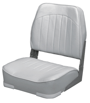 PROMOTIONAL LOW-BACK FOLD-DOWN SEAT-Gray Vinyl